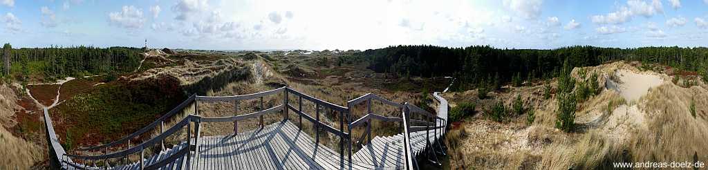 360 Grad Panorama-Bilder Natur Amrum entdecken