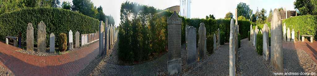 360 Grad Friedhof St. Clemens Nebel Amrum